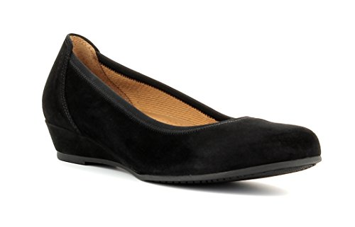 Gabor Shoes Damen Ballerina Pumps, schwarz 47), 39 EU