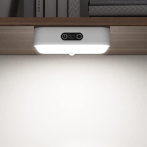 SOAIY Lampada LED Touch dimmerabile con sensore di movimento USB, ricaricabile per armadio, cucina, 1200 mAh, con barra luminosa magnetica per armadio della cucina, armadio