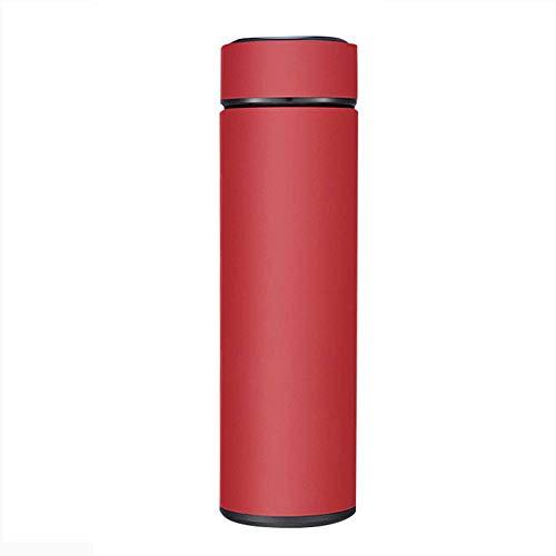 wuxafe Frasco de Vacío de Acero Inoxidable Aislamiento Doble Pared Botella termica Reutilizable para Colegio Oficina Viajes Aire Libre