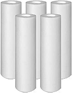 Pack of 5 Compatible Replacment filter set for GE GXWH04F GXWH20F GXWH20S GXRM10 GX1S01R Compatible Filters, 5 Micron Water Filter Cartridges by IPW Industries Inc.