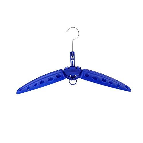 Kasachoy Percha Plegable para Traje de Neopreno, Perchas para Trajes de Surf, Perchas de plástico Multiusos con ventilación de Secado rápido para Trajes húmedos de Buceo con escafandra