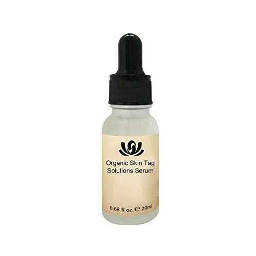 Sérum Solutions Bio Tags, Décapant de peau et décapant de taupe, Crème d'étiquette de peau naturelle, sérum éclaircissant correcteur de taches brunes