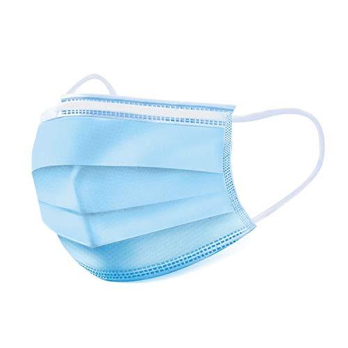 GDA 50 Stück Medizinischer Mundschutz für Kinder 100% Made in Italy EN14683 Type II BFE ≥ 99% Einwegmasken Kinder OP Masken Mund Nasen Schutz