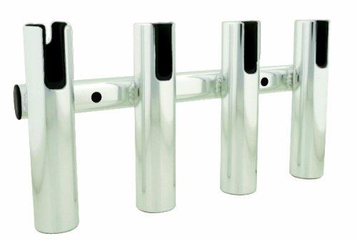 TACO Metals Aluminum 4-Rod Rack, Brushed