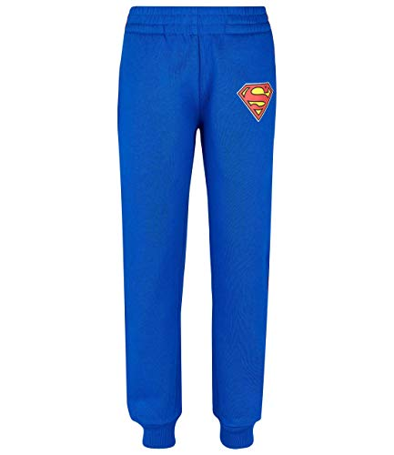 Superman Jogginghose blau (140)