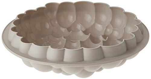 Form aus silikon BOLLE von Silikomart, Ø 22 cm, Grau