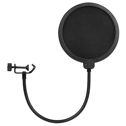 GOMILE Miccrophone Pop Filter Cover For Blue Yeti Mic Windscreen Metal Isolation Shield for Vocal Recording