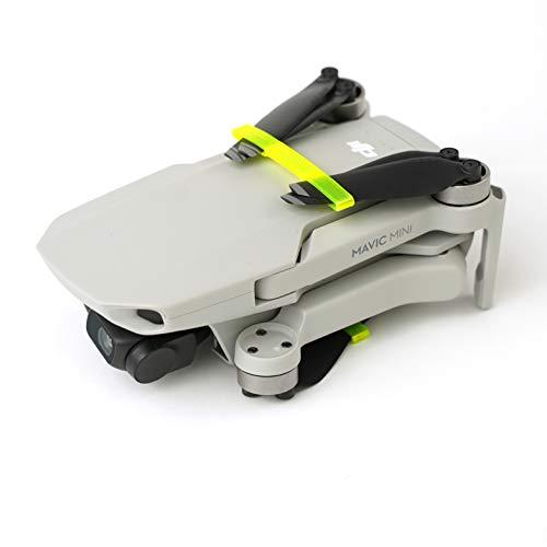 3dquad Transport Schutz für Propeller, Blade Holder, Clip für DJI Mavic Mini Drohne (gelb)