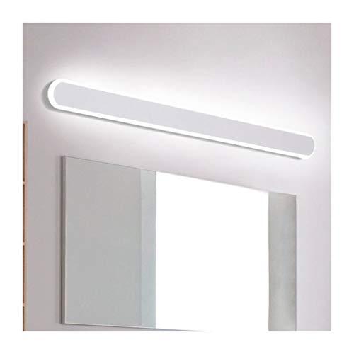 WYZ. Badkamer LED-spiegel-schijnwerper, ontwerper minimalistische hotel-spiegelkast toilet speciaal vanity licht [energieklasse A +] (kleur: wit licht)