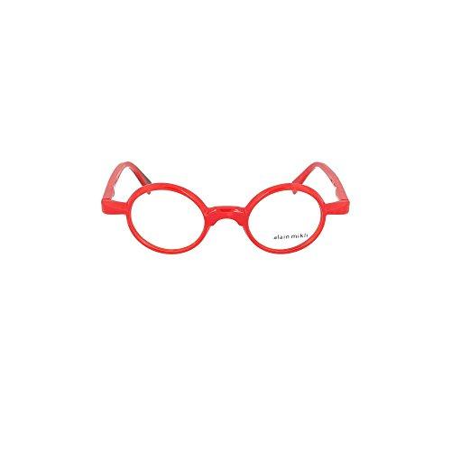 Alain Mikli Brillen Gafas de Vista 0A03085 RED 42/22/145 Damen