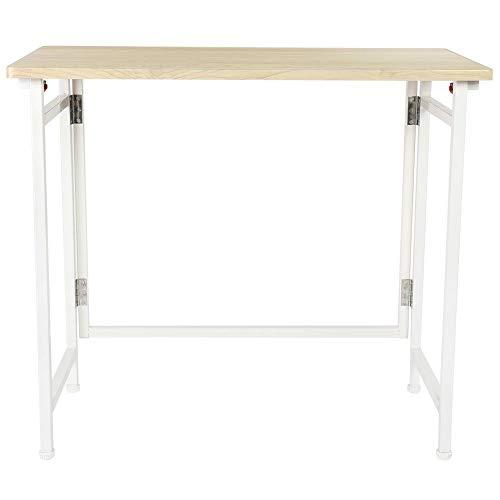 lyrlody Klapptisch, Multifunktionale Computertisch Arbeitstisch Schreibtisch Bürotisch Konferenztisch Laptop Tisch PC Tisch für Zuhause Büro...