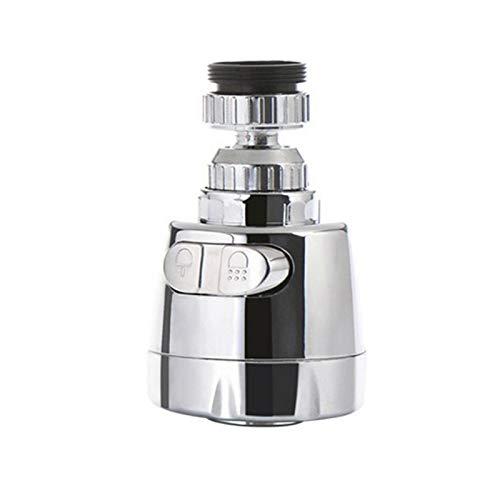 Maril Boquilla de Grifo de Lavabo Ajustable aireador de Grifo Cocina Ahorro de Agua de Grifo Filtro Boquilla para Cocina y baño 360 Grados Standard