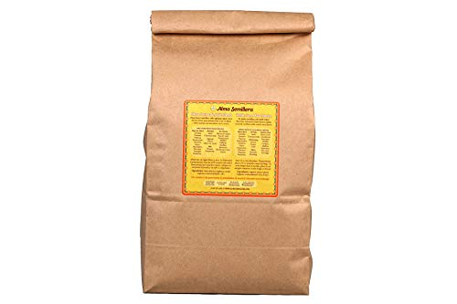ALMA SEMILLERA White Corn Masa Harina (5lb) - Organic Ingredients, Gluten Free, Vegan, Fine Texture