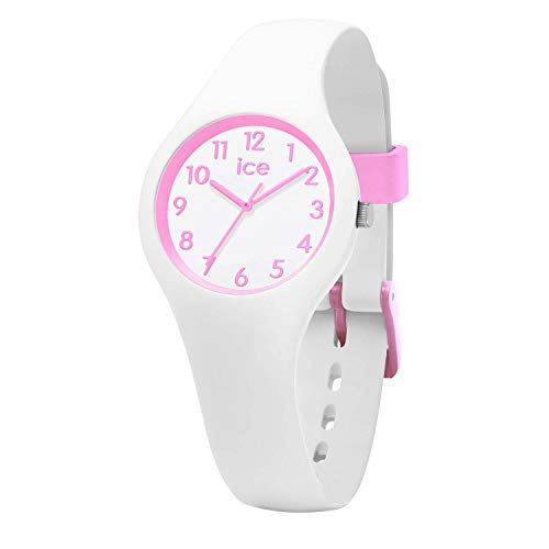Ice-Watch - ICE ola kids Candy white - Girl's wristwatch with silicon strap - 015349 (Extra small)