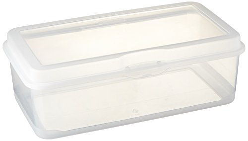 Sterilite Plastic FlipTop Latching Storage Box Container Clear 12 Pack
