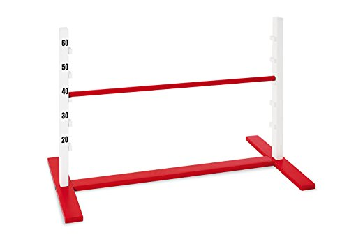 PINOLINO Hotte Obstacle Hurdle Outdoor Game (Red/Brown)