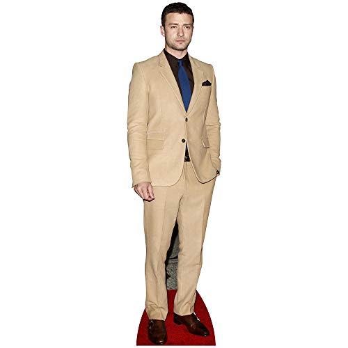 SC2086 Justin Timberlake suporte de recorte de papelão