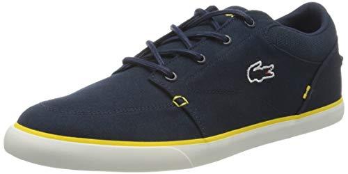 Lacoste Herren Bayliss 220 1 CMA Sneaker, Blau (NVY/YLW 2m3), 46.5 EU