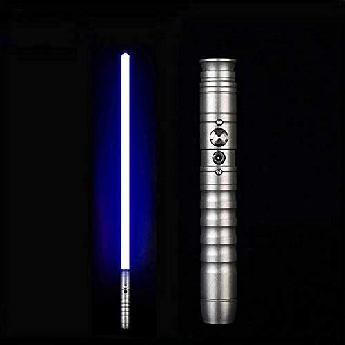 Y&Z Espada Laser Star Wars Fuerza fx sables Serie Negra Espadas Juguete Sable de luz para niños Regalos de Star Wars para Adultos Sable Metal Darth Maul Sable de luz Rojo Anakin Skywalker Sable