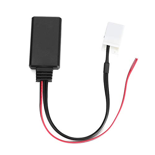 Terisass Cable Adaptador Auxiliar para Coche, módulo Bluetooth para Coche, Entrada de Audio para Peu-geot Cit-Roen RD4, Receptor de Cable estéreo de Radio