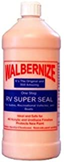 Walbernize RV Super Seal for Autos, RVs, Airstream, Boats, Planes to Protect New Paint 32 Ounce Bottle