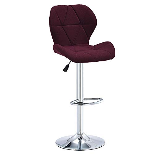 Q-H-F Eenvoudige moderne kinderstoel lift draaibare stoel recreatieve stoel mode hoge kruk thuis eetkamerstoel