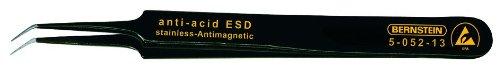Bernstein Werkzeug GmbH 5-052-13 SMD-Pinzette, 110 mm, abgewinkelt, super-spitz, mit ESD-Beschichtung