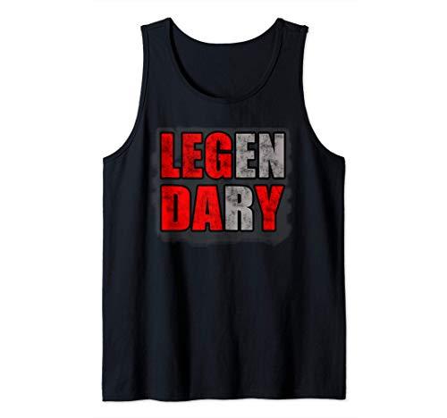 El entrenamiento del culturismo Leg Day Gym Camiseta sin Mangas