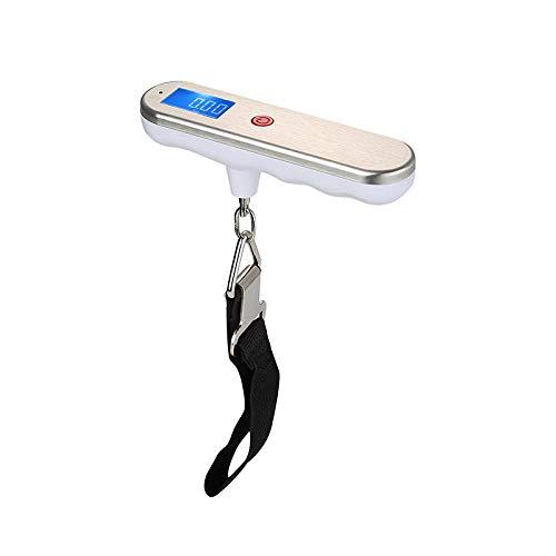 RKGD 50 kg gehandhabtes digitales Wiegen Steelyard Mini-Gepäckwaage Angeln Reisekoffer Elektronische Hängehakenwaage Küchenwerkzeug-50 kg-10 g B.
