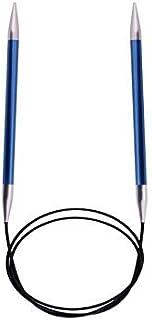 KnitPro Zing Aiguilles à tricoter circulaires Violet Longueur 40 cm Épaisseur 4,5 mm