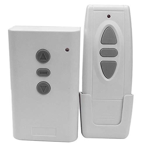 ACAMPTAR Transmisor de Sistema de Interruptor de Control Remoto InaláMbrico Inteligente RF AC220V 433MHz para Pantalla de ProyeccióN Cortina de Puerta de Garaje