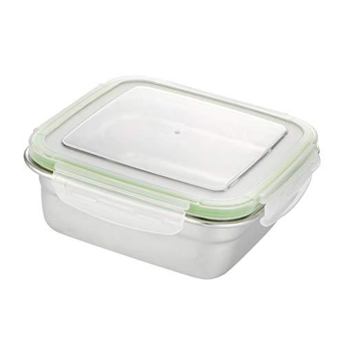 Microondas Térmica Bento Crisper Box Camping Contenedor De Almacenamiento De Frutas Para Niños, Mantenga Los Alimentos Calientes O Frescos En La Unive - 1200ml