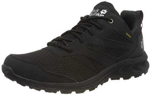 Jack Wolfskin Herren Woodland Texapore Low M Outdoorschuhe, Black, 43 EU