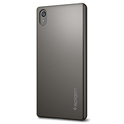 Spigen SGP11804 - Funda Dura para Sony Xperia Z5, Color Gris