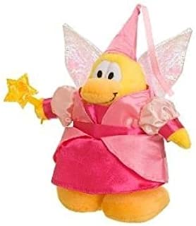 "Club Penguin Save $8.00 - Value Deal on Rare Pink Fairy Princess 6.5"" Plush - Value Deal = Just The Rare Plush Without Coi..."