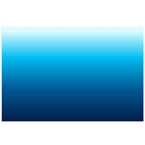 Victories Fish Tank Backdrop-PVC HD Printing Wallpaper,Ocean, Gradients of Blue Aquarium Poster Background Decor Paper Cling Decals Sticker