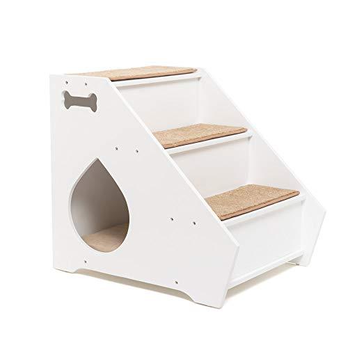 D-Mail Scaletta con Cuccia per Cani di Piccola Taglia