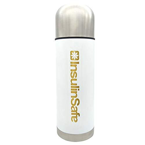 Cup-Medicine - Nevera portátil con enfriador de insulina para Chilled Meds 72 horas moderno talla dorado