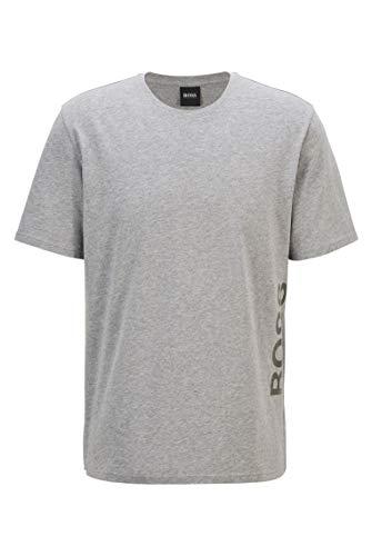 BOSS Identity T-Shirt RN Camiseta de Pijama, Medium Grey33, M para Hombre
