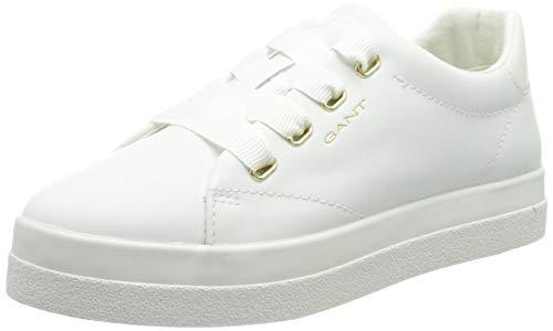GANT Footwear Damen Avona Sneaker, Bright White,40 EU