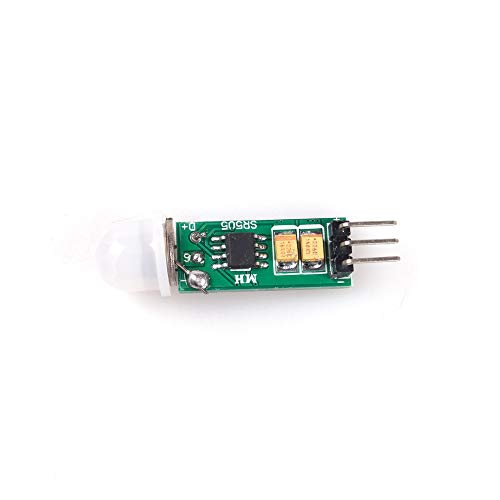 ANGEEK Mini Infrarot Pir HC-SR505 Sensor de movimiento módulo para Arduino Raspberry Pi
