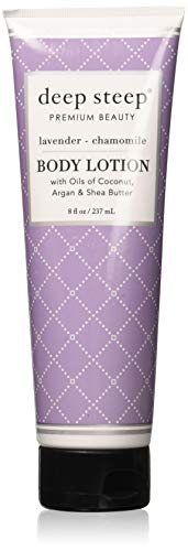 Deep Steep Body Lotion, Lavender Chamomile, 8 Ounce
