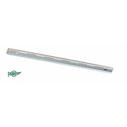 Faibo Reglas aluminio especial corte (80 cm.)