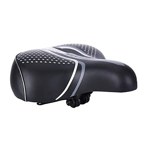 Cojín de Asiento de Bicicleta Sillín Suave Scooter eléctrico Cojín de Asiento de Esponja cómodo
