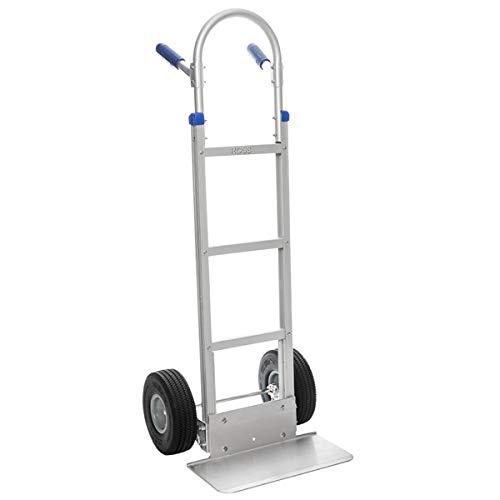 Aluminium Sack Truck with Puncture Proof Wheels 1300 x 510 x 260mm by Ross Castors - 300kg Capacity