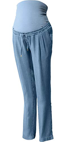 Golden Lutz® - Damen Umstands-Haremshose im Denim-Look (Hellblau Denim, Gr. 42) | ESMARA