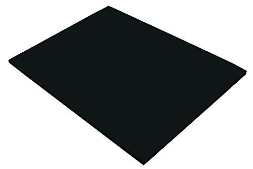 """Riverside 3D Construction Paper, Black, 18"""" x 24"""", 50 Sheets"""