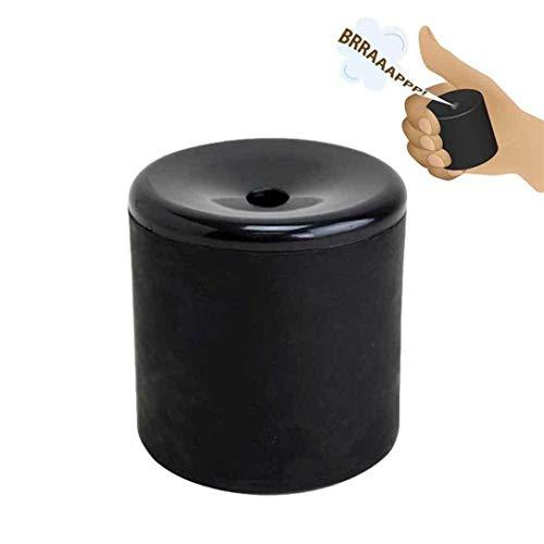 Crea Peos con Sonido Fart Pooter Broma Máquina Fiesta (Negro) - Negro, one size