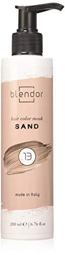 Blendor - Feuchtigkeitsspendende Haarfarbmaske mit Direktfarbpigmenten, 200ml - Sand (.13)
