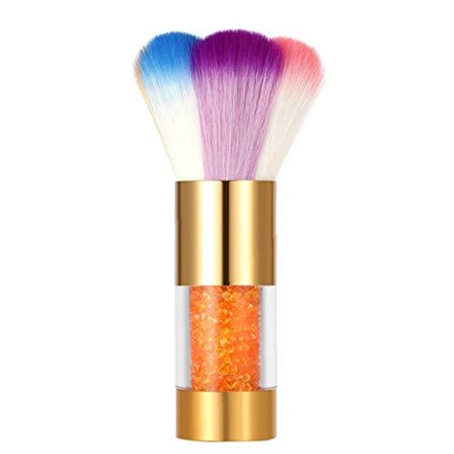 Pinceau blush coloré doux Pinceau Poudre Nail Art DEPOUSSIERANT Brosse pour l'art de maquillage ou ongles